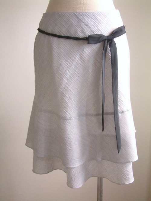 Ribbon bow cake skirt - Light Blue