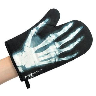 Mustard insulated gloves - X-ray
