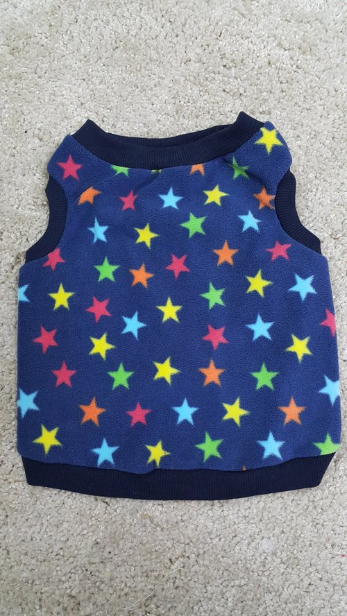 Warm Pet Vest - Color Star M No.