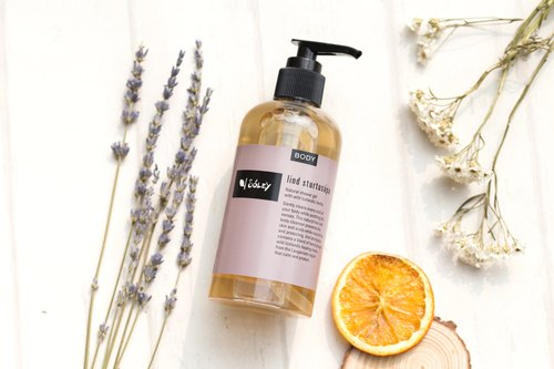Iceland Soley Organics | Plant Extract Moisturizing Body Wash