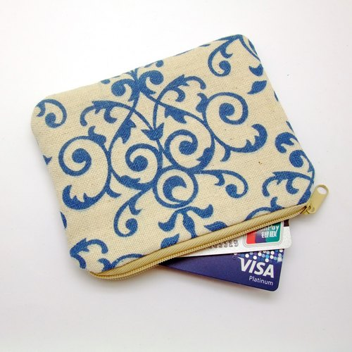 Zipper pouch / coin purse (padded) (ZS-160)