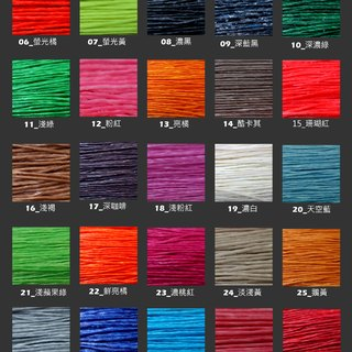 About dearsharka Thai wax color card | Please do not order from this product page