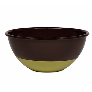 RIESS x Sarah Wiener joint paragraph enamel cooking pot 22cm (chocolate / pistachio)