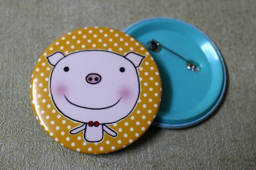 Big badge (pig)