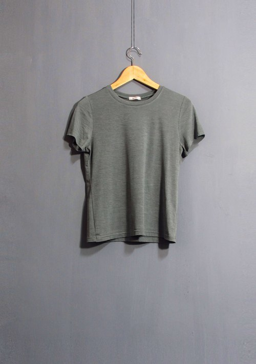 Wahr_ green pattern t-shirt