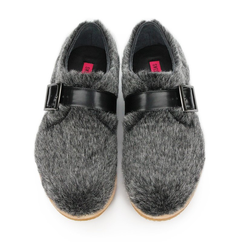 RATTLESHIRT M1146 Metallic Fur Shearling sneakers