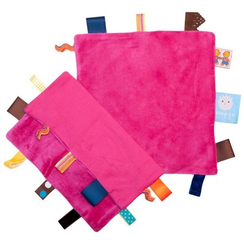 Netherlands Snoozebaby dream come true appease towel - pink