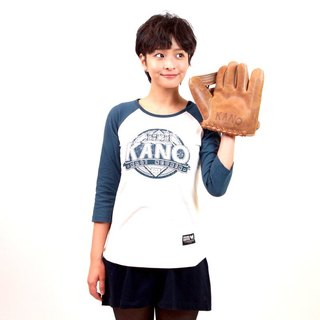 KANO Seven-point T-female (deep blue)