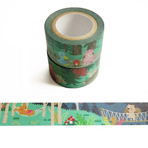 And paper tape: Holiday Fun Forest Adventure series Simo town