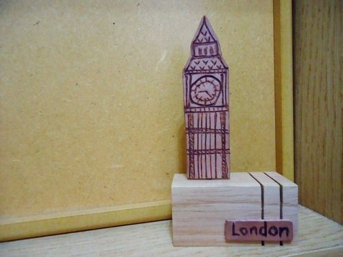 My city -London London Baishi, Paperweight, message folders, business cards