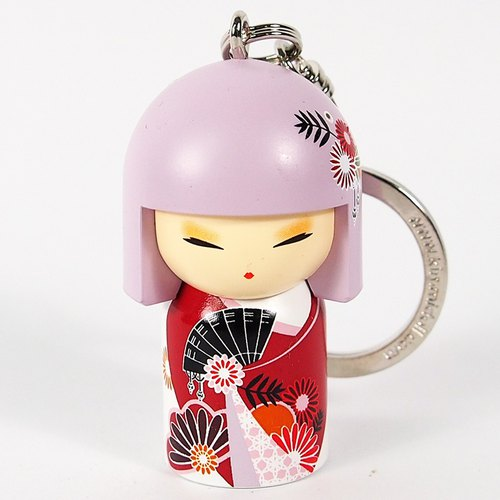 Kimmidoll and blessing doll keychain Mikoko