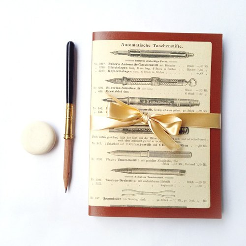 ◤Set Journal+Wooden Pencil+Eraser-Francesco Rubinato