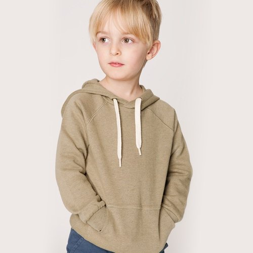 Nordic design] [within French Cotton bristles thick organic cotton children's clothes hoodie Shampoodle