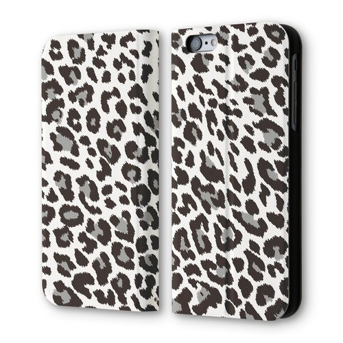 AppleWork iPhone 6 / 6S Plus clamshell holster: Punk Leopard PSIB6P-003K