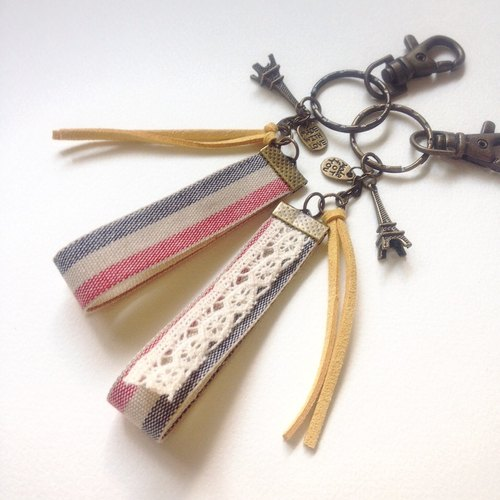 hm2. France! Paris keychain