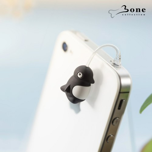 Charm Plug Jumping Headphone Dust Plug - Penguin