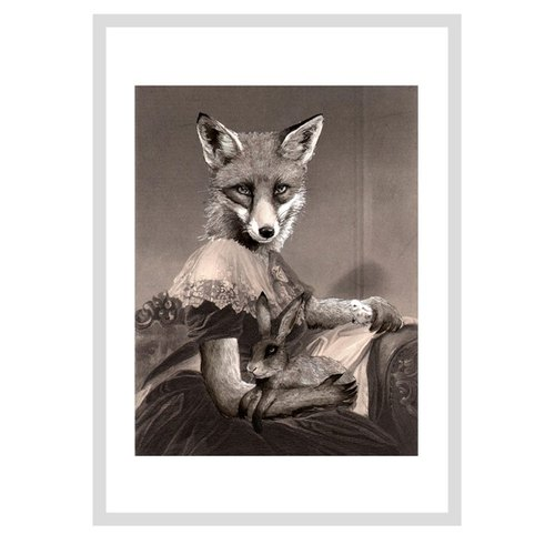 Mrs Spring Fox design poster | Jimbobart