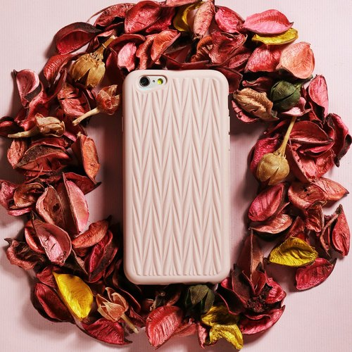iPhone 6 / 6s Plus Mobile Shell 5.5 inch [Braids one thousand million of Industry and braided - Christmas Rose Castle]