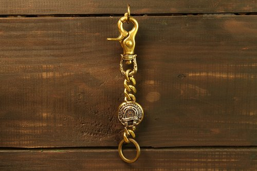 Carved Buckle Key Chain rotation carved horseshoe key ring buckle MT