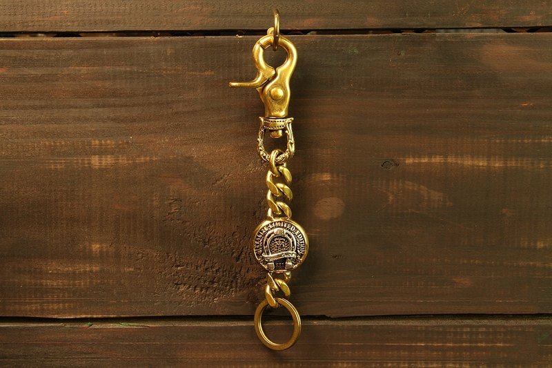 [METALIZE] Rotary carved buckle MT horseshoe key ring
