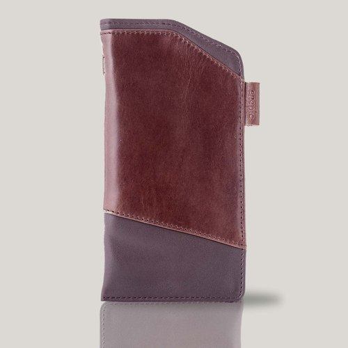Martini - 4.7 inch leather phone Case - Brown