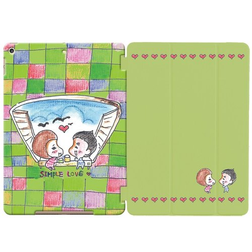 "Painted love series - sweet simple love -ASA ""iPad Mini"" Crystal Case + Smart Cover (magnetic pole)"