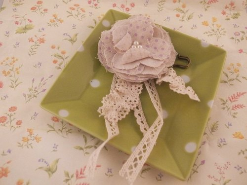"""Garden Series"" sweet flower brooch"