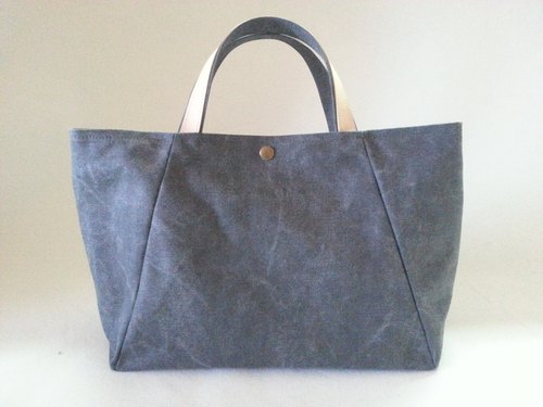 Canvas bag a trapezoidal