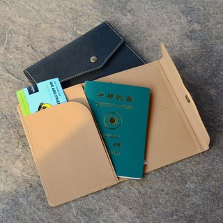 Passport holder │ natural water repellent │ imitation leather paper