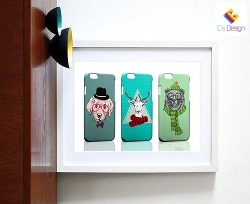 Cute little animals Samsung S5 S6 S7 note4 note5 iPhone 5 5s 6 6s 6 plus 7 7 plus ASUS HTC m9 Sony LG g4 g5 v10 phone shell mobile phone sets phone shell phonecase