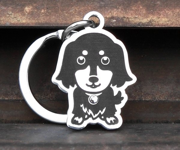 "[Sausage - four items Edition] ""dog shape"" Exclusive - custom designer (6-color diamond) Anti-lost ◆ ◆ cute x"
