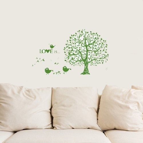 Smart Design creative Seamless pattern tree wall stickers ◆ 8 color options