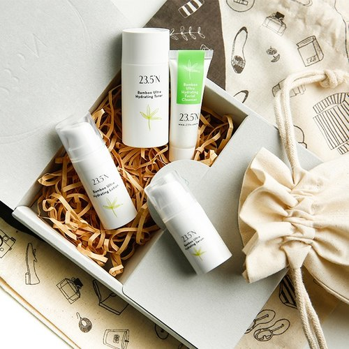 Bamboo hydrating 14-days travel kit