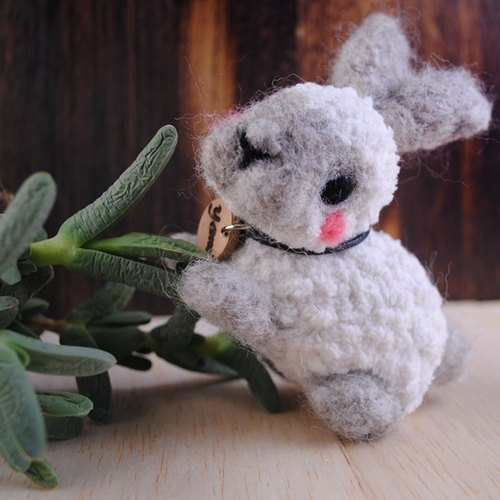 8cm Pet [feiwa Fei cloned baby doll pet rabbit hand-made] (welcome to build your rabbit) 12 zodiac Rabbit doll