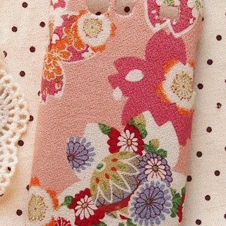 Fabric wind pink cherry orange phone shell protective shell Apple Iphone 5 5s 4 4s LG G2 Nexus 5 4 Optimus G