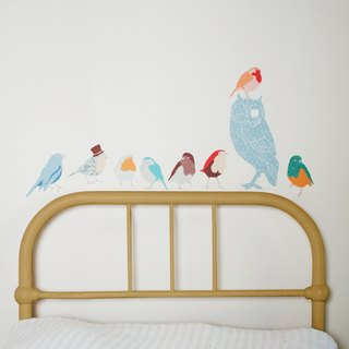 Birds singing - Earth < love mae Australia nontoxic patent wall stickers small >
