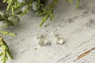 Pierce / Herkimer type crystal earrings