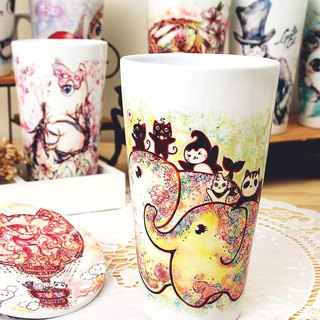 Good meow bulk latte cup - Elephant flowering
