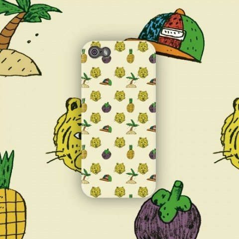Tropical-pop pop / 2014 / phone case