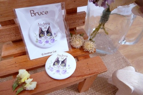 Andrea Cat- Bruce badge
