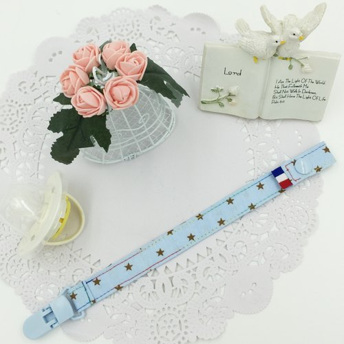 * Princess puff sugar - Hand cramping pacifier pacifier clip chain ★ ★ ★ full moon gift toy chain ★ ★ special nipple can be customized vanilla births A-3
