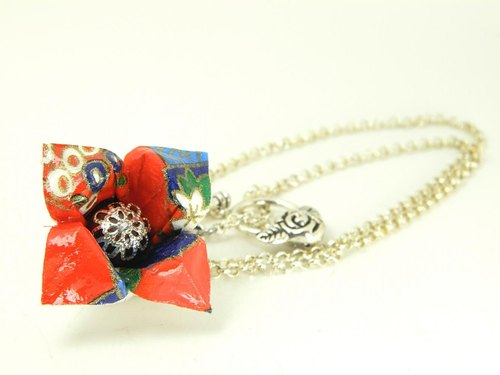 Origami necklace (Y18CLK3CAr)