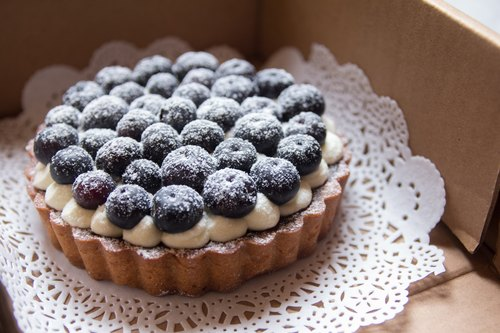 Cocolicious mouth delicious | blueberries makes perfect 4.5-inch tower
