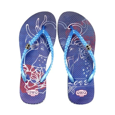 QWQ creative design flops -Dear Deer- blue [CO0101504]