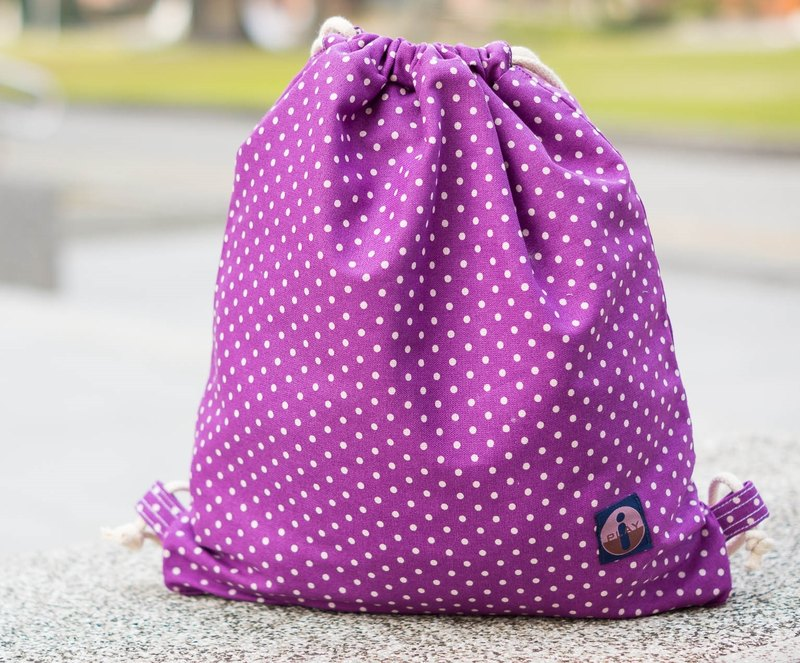 Little cute beam port Backpack (handmade) trademark has been registered
