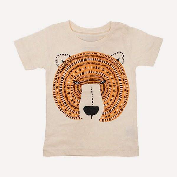 Amabro Honey Tee · Bear · 5-6 years