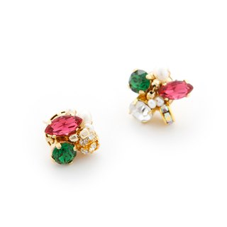 [Luce Costante] Petit earrings / LC-1597p C (pin)