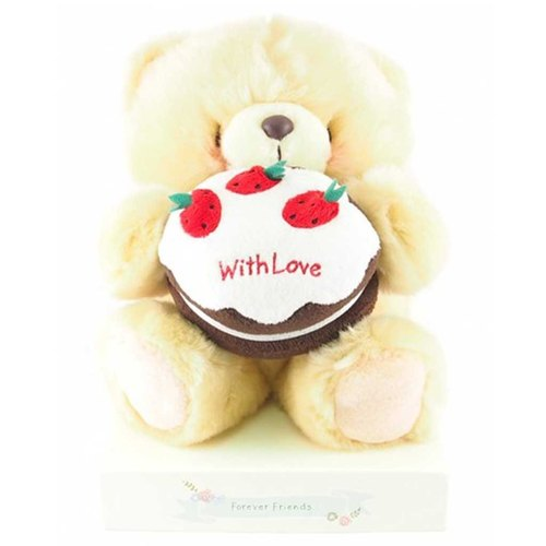 ◤ and I want to share the love of sweet honey | FF 8-inch nap Bear Wedding Set