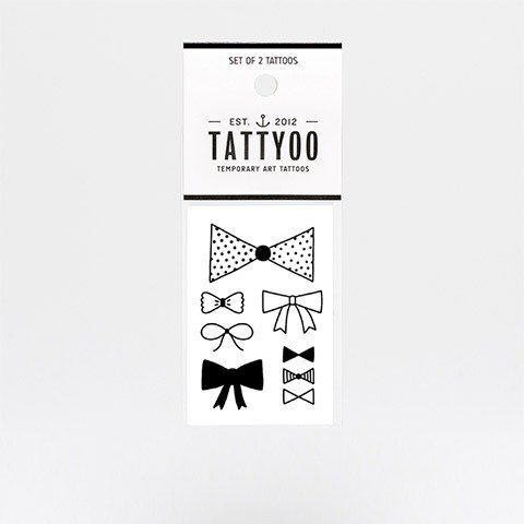 Bow tattoos sticker | TATTYOO