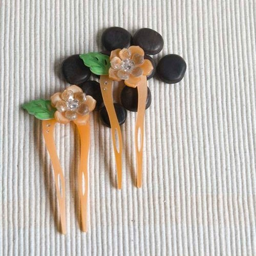 [MITHX] color of Something New, U-shaped hairpin, hairpin, hair plug - Coffee